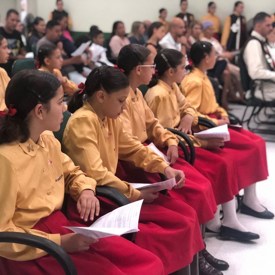 Cerimônia de Formatura e encerramento de ano – Setor Feminino